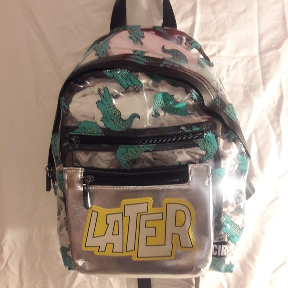 433981456e12 Circus By Sam Edelman Gator Clear Jelly Backpack